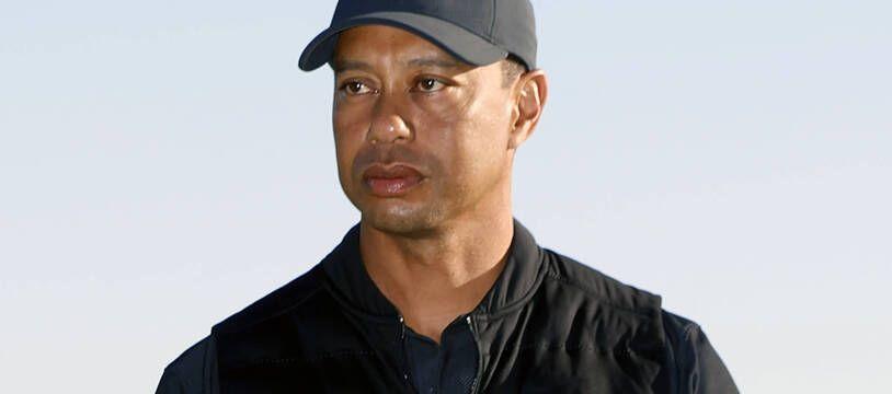Tiger Woods, le 21 février 2021.