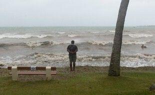 A Nouméa lors du passage du cyclone Pam, en 2015. (archives)