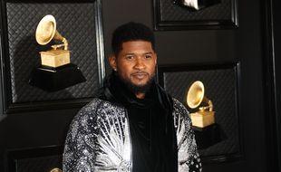 Le chanteur de R&B Usher