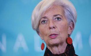 La directrice générale du FMI, Christine Lagarde, le 10 février 2016 à Washington