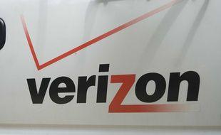 Le logo de la marque Verizon Wireless.