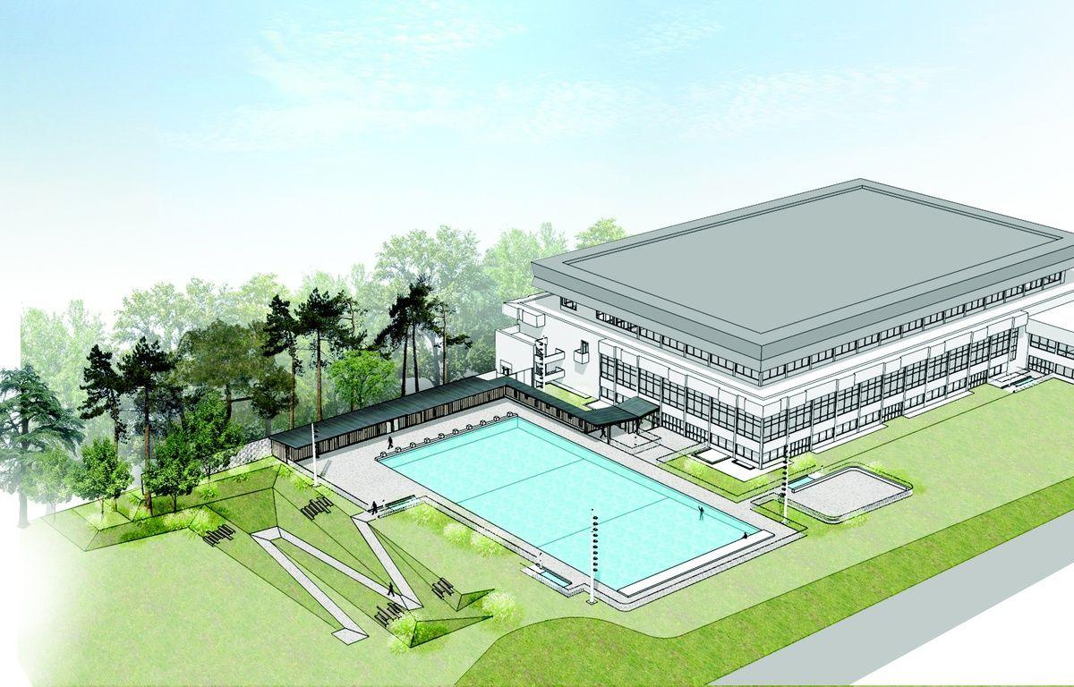 Rennes en 2018 br guigny offrira une baignade ext rieure for Brequigny piscine
