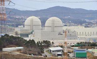 La centrale nucléaire en construction de Gori, le 5 février 2013