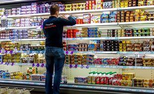 Les yaourts font partie des produits les plus consommés en supermarchés.