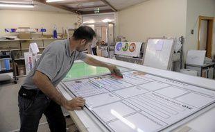 Ateliers de la société Gerner, spécialisée dans la fabrication de signalétique à Wolfisheim. (Archives)