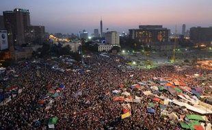 La place Tahrir, au Caire, le 24juin 2012.