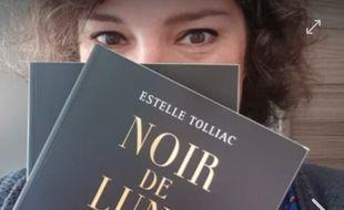 Estelle Tolliac, lauréate du prix 20 Minutes du roman avec Noir de Lune