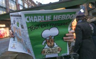 Le premier «Charlie Hebdo» après l'attentat du 7 janvier 2015. (Illustration)