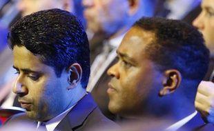 Nasser Al-Khelaifi et Patrick Kluivert.
