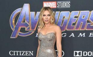 L'actrice Scarlett Johansson, aka Black Widow dans The Avengers