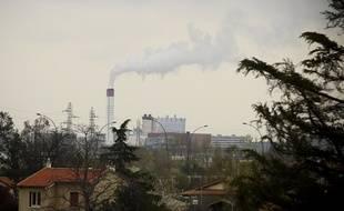 L'incinérateur de déchets du Mirail, à Toulouse.