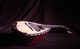 Une mandoline (illustration).
