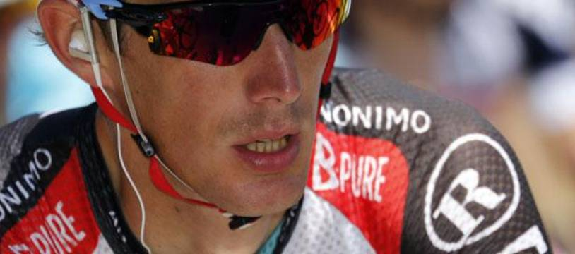 Andy Schleck lors du Tour de France 2013.