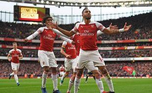 Pierre-Emerick Aubameyang a été décisif lors de la victoire d'Arsenal face à Tottenham (4-2), le 2 décembre 2018.