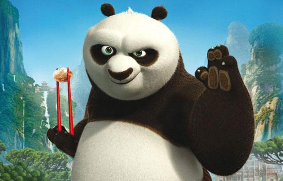 L'affiche du film d'animation de Dreamworks «Kung Fu Panda 2». – Paramount pictures
