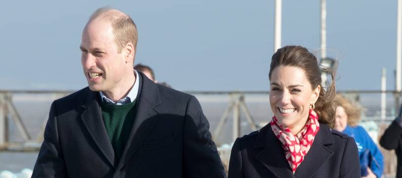 Le prince William et son épouse Kate, duchesse de Cambridge