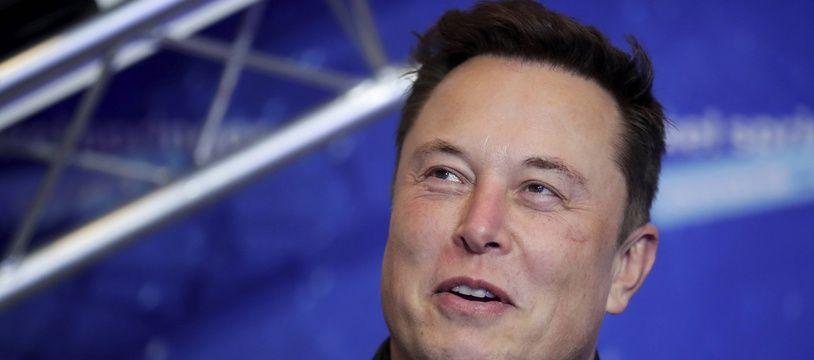 Elon Musk, le 1er décembre 2020.