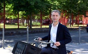 Stéphane Baly, candidat (EELV) aux municipales à Lille, espère faire tomber Martine Aubry.