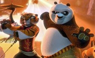 Kung Fu Panda 2, des studios DreamWorks, est sorti sur les écrans français le 15 juin 2011.