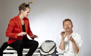 Stéphanie Boutros a invité  son cousin Ludovic Salmon à partager une pièce de théâtre avec elle.
