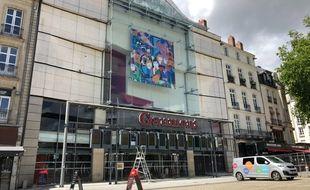 Le cinéma Gaumont, place du Commerce à Nantes, le 10 mai 2021.