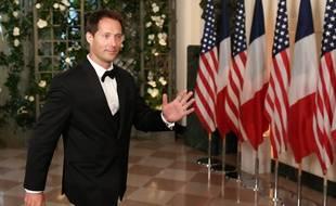 Thomas Pesquet lors du dîner en l'honneur d'Emmanuel et Brigitte Macron à la Maison blanche, le 24 avril 2018.
