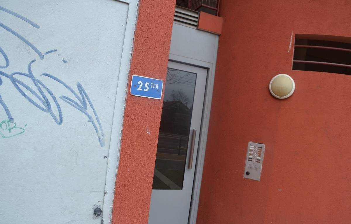 L'opération antiterroriste a eu lieu le 10 février, dans cet immeuble de Montpellier (Hérault). – N. Bonzom / Maxele Presse