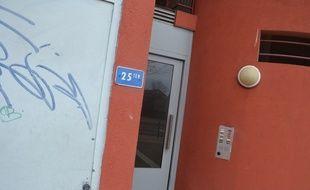 L'opération antiterroriste a eu lieu le 10 février, dans cet immeuble de Montpellier (Hérault).