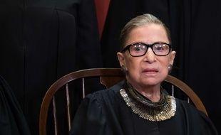 La juge à la Cour suprême américaine Ruth Bader Ginsburg, le 30 septembre 2018.