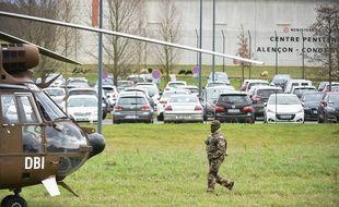 L'intervention est toujours en cours à la prison de Condé-sur-Sarthe dans l'Orne.