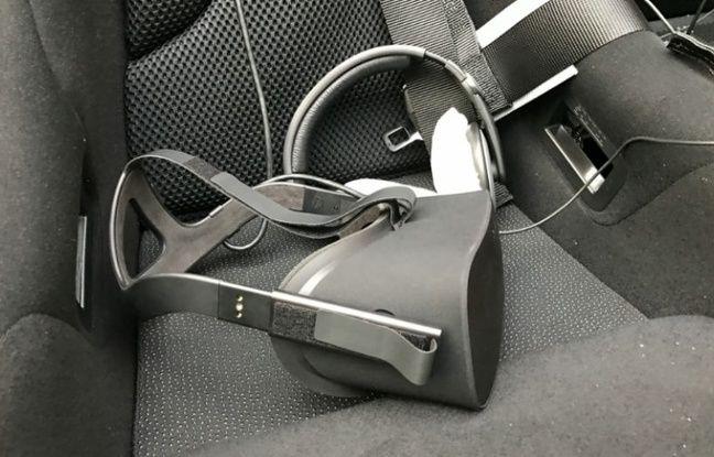 Le casque VR Oculus Rift au service de l'impressionnante Caterham Drive Xperience, de la société Nightshift.