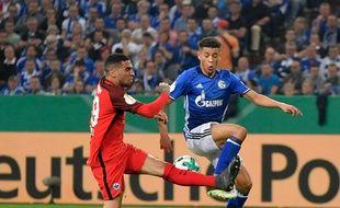 Amine Harit le 18 avril dernier sous le maillot de Schalke.