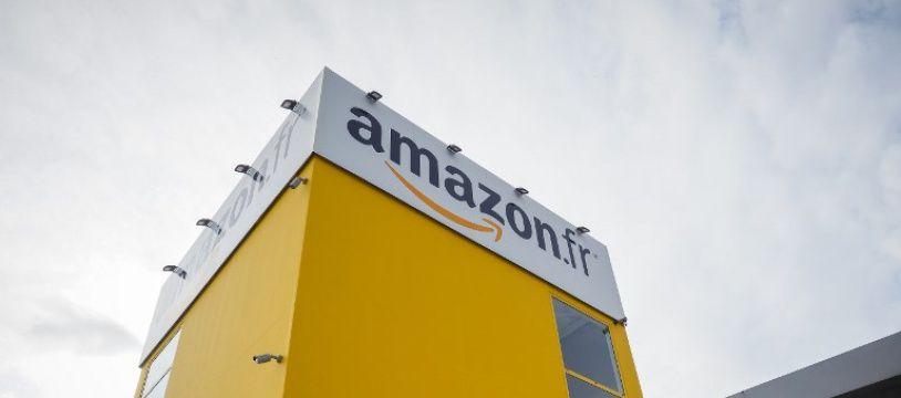 Un entrepôt Amazon à Saran, en France.