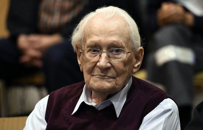 Allemagne: Mort de l'ancien SS et «comptable d'Auschwitz» Oskar Gröning Nouvel Ordre Mondial, Nouvel Ordre Mondial Actualit�, Nouvel Ordre Mondial illuminati