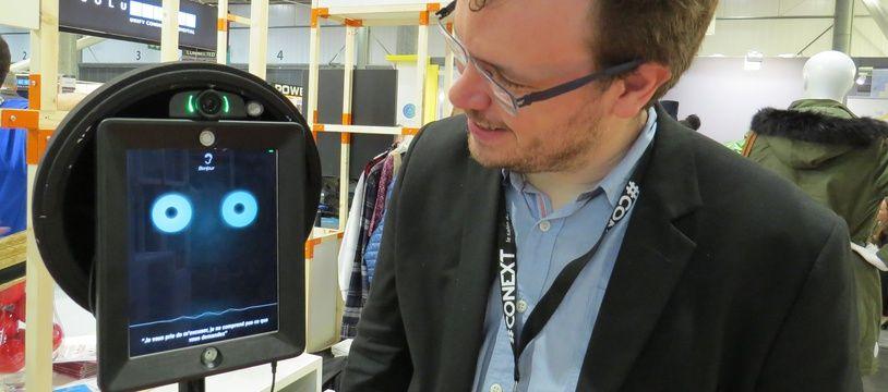 Le Robot Jardus guidera bientôt  l'acheteur dans les centres commerciaux et les magasins.
