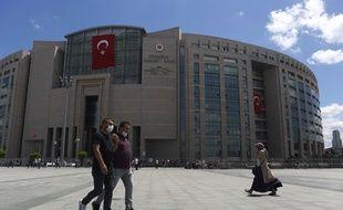 Un tribunal à Istanbul, en Turquie (illustration).