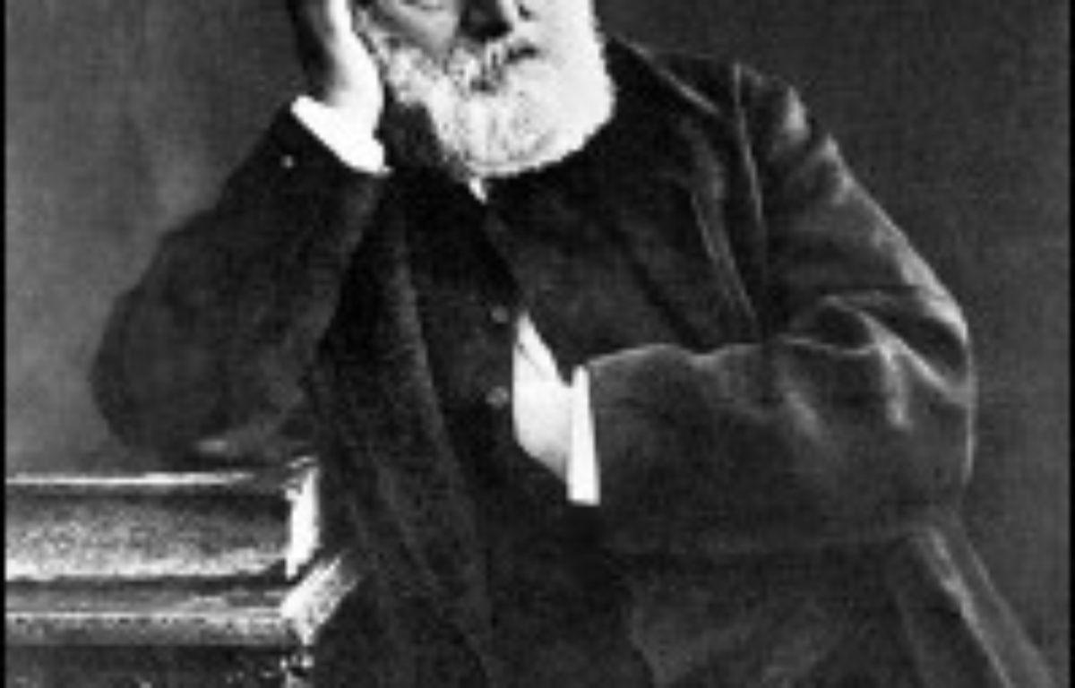 Paris et sa région accueillent à partir de lundi et jusqu'au 7 février le premier festival consacré à Victor Hugo (1802-1885), une manifestation théâtrale, lyrique, littéraire et cinématographique qui aura des prolongements à Londres, Luxembourg et Castellon (Espagne). –  AFP/Nadar/Arch.