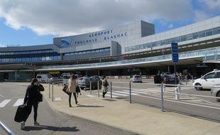 A l'aéroport de Toulouse-Blagnac.