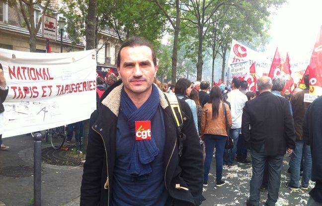 Rodolphe, 43 ans, secrétaire syndical CGT du centre hospitalier Guillaume Régnier à Rennes.