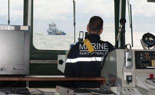 Des navires de la Marine nationale sont arrivés sur zone.
