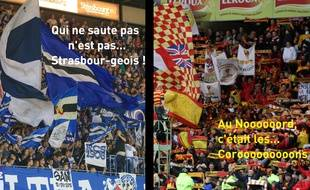 Au stade Bollaert, Lens et Strasbourg verront également s'affronter les plus beaux supporters de Ligue 2 dans la course à la montée ce lundi soir.