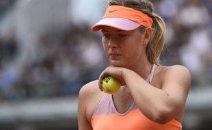 Maria Sharapova, le 3 juin 2014, à Roland-Garros.