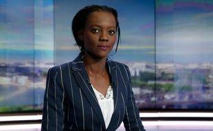 Rama Yade sur le plateau de TF1 le 21 avril 2016 à Paris