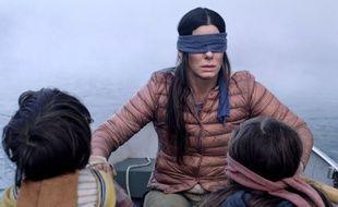 Sandra Bullock, dans le film de Netflix «Bird Box».