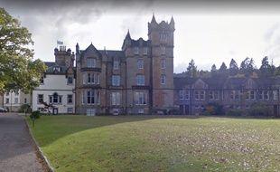 Le manoir Cameron House, en Ecosse, a été ravagé par les flammes.