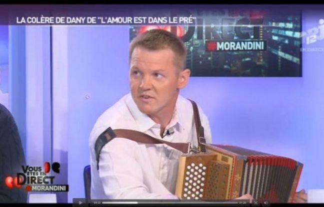 Capture d'écran de l'émission Vous êtes en direct où était interviewé Dany lundi soir.