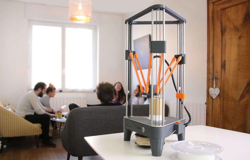VIDEO. L'impression 3D pour tous à moins de 300 euros avec Dagoma