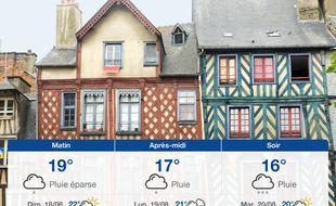 Météo Rennes: Prévisions du samedi 17 août 2019