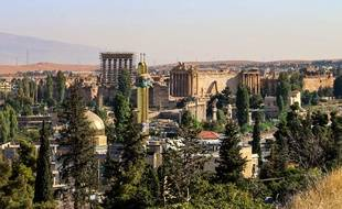 La ville de Baalbeck, non loin de la frontière libano-syrienne.
