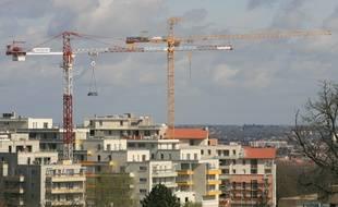 Des immeubles en construction à Toulouse. Archives.